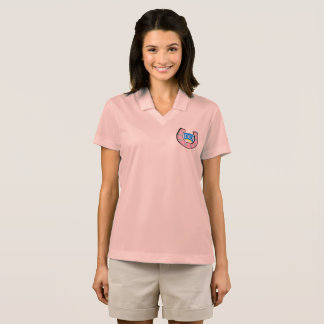 Women's Nike Polo with Crest Logo