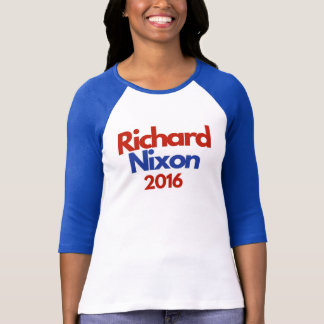 Women's Nixon campaign raglan tee