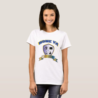 Women's None Ya University Crest Shirt