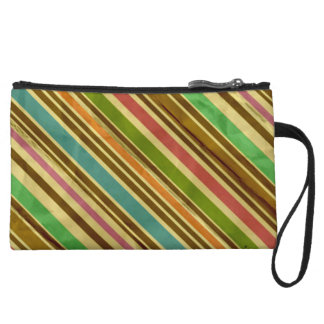 Women's Old School Pinstripes Wristlet Clutches