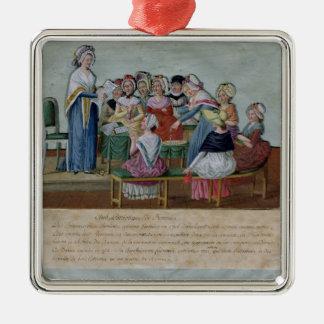 Women's Patriotic Club Ornament