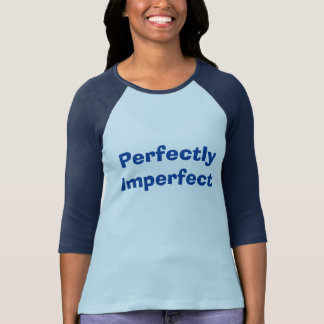 Womens Perfectly Imperfect Raglan 3/4 T Shirt