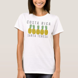 Women's Pineapple Santa Teresa, Costa Rica T-Shirt