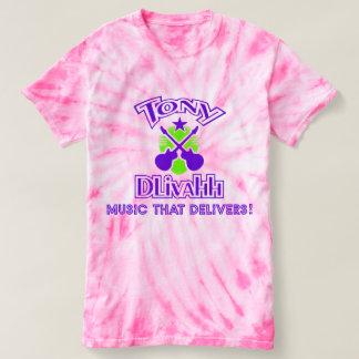 Women's Pink cyclone tie-dye shirt