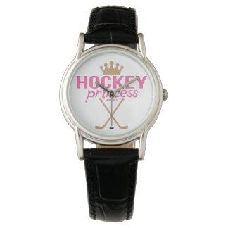Women's Pink Hockey Princess Wrist Watch