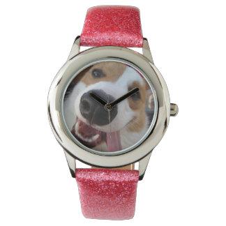 Women's Pink Pembroke Welsh Corgi Watch