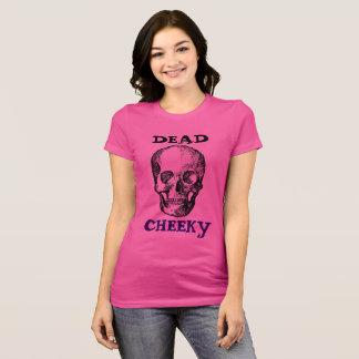 Women's pink short sleeved jersey t-shirt