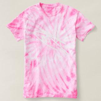 Women's Pink Tie Die Signature T-Shirt