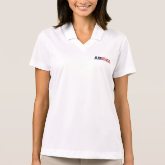 Women's Polo Shirt-America