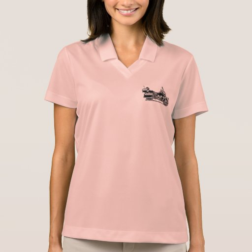 Womens Polo-Style shirt with Royal Star Venture