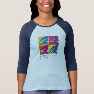 Women's Pop Art Raglan T-Shirt