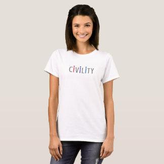 Women's Positive Tee Shirt for Civil Citizens