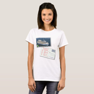 Women's Postcards T-Shirt (1-sided)