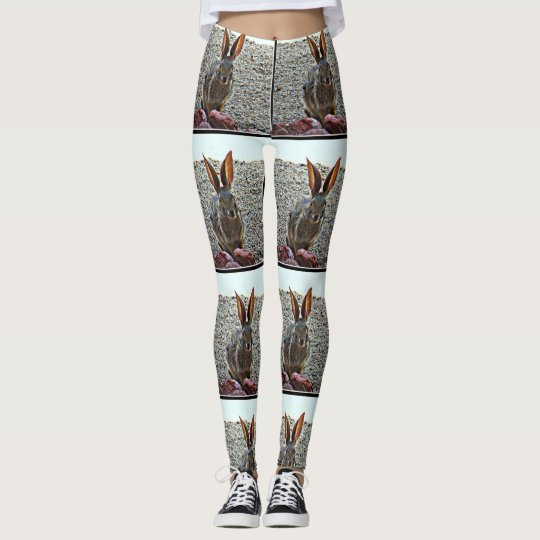 "Women's ""Princess Bunny"" Custom Leggings"