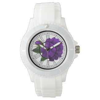 Womens printed wrist watch