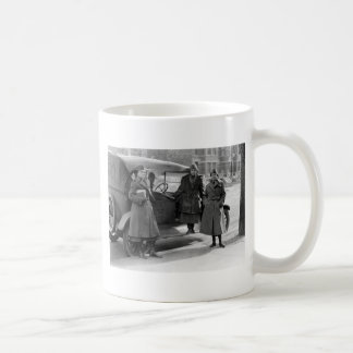 Women's Radio Corps: 1919 Basic White Mug