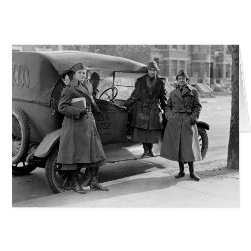 Women's Radio Corps: 1919 Cards