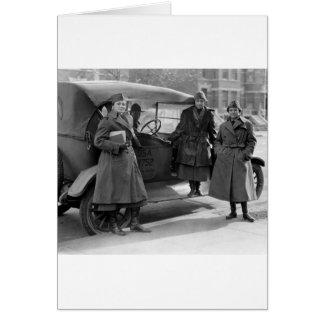 Women's Radio Corps: 1919 Greeting Card