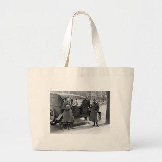 Women's Radio Corps: 1919 Jumbo Tote Bag
