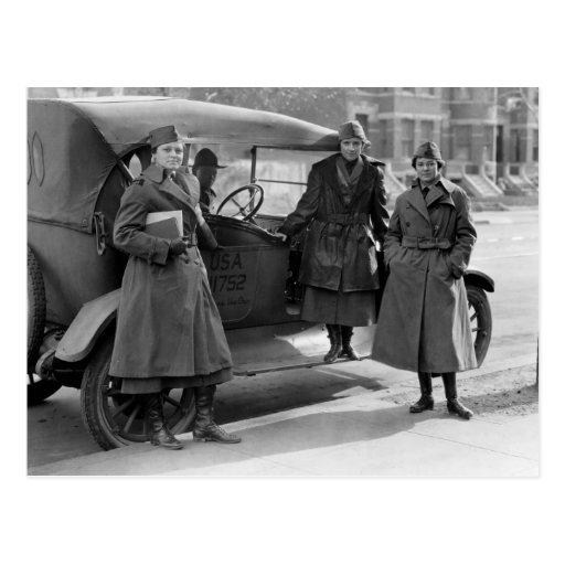 Women's Radio Corps: 1919 Post Cards