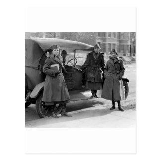 Women's Radio Corps: 1919 Postcard