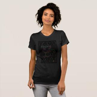 Women's Rave black Travis T-shirt
