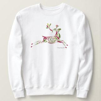 Women's Reindeer holiday sweatshirt