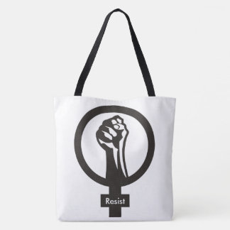 Women's Resist Large Tote Bag