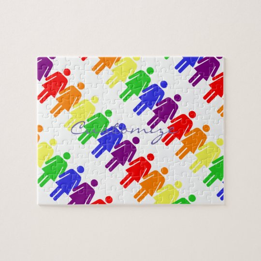 women's rights 2017 LGBTQIA Thunder_Cove Jigsaw Puzzle
