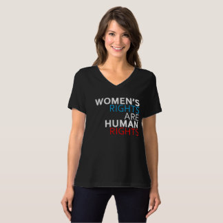 Women's Rights are Human Rights V-Neck T-Shirt