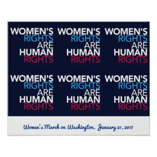 Women's Rights - March on Washington Poster
