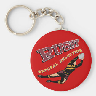 Women's Rugby #2 RY Key Ring