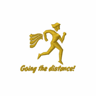 """Womens Running """"Going the distance!"""" Hoodie"""