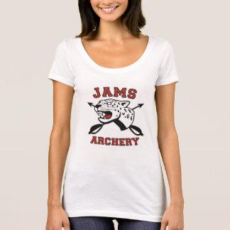 women's scoop neck archery T T-Shirt