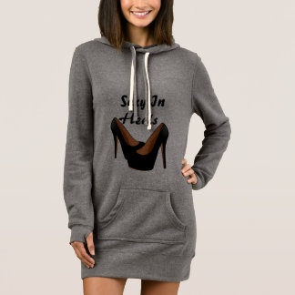 Womens Sexy In Heels Sweater Dress