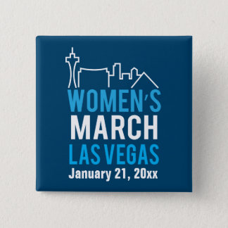 Women's Sister March Las Vegas January 15 Cm Square Badge