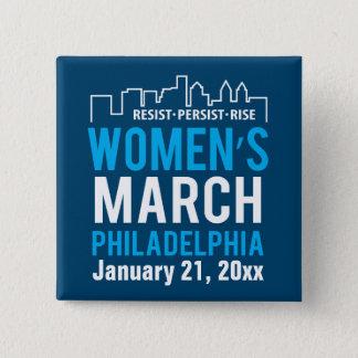 Women's Sister March Philadelphia January 15 Cm Square Badge