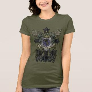Women's Size Cross World is My Classroom - Dark T-Shirt
