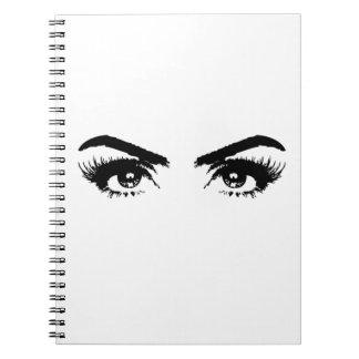 Womens Sketch Eyebrows Notebook