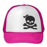 Womens Skull and Crossbones Cap