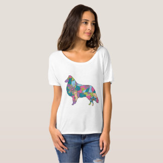 Women's  Slouchy Boyfriend T-Shirt Collie
