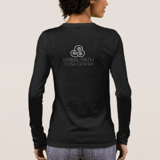 Women's Slow is the New Fast - Spiral Path Yoga Long Sleeve T-Shirt