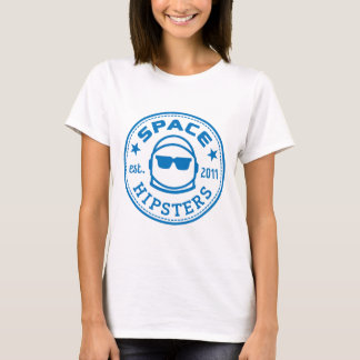 Women's Space Hipsters Reversed Logo Tee