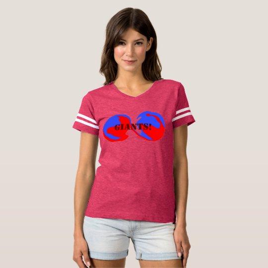 Women's Sports Jersey T-Shirt