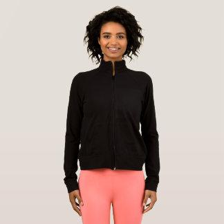 Women's Sports Practice Jacket  BLACK colour