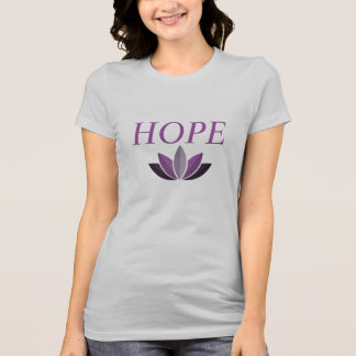 Women's Spread Hope Double Sided Hashtag T T-Shirt