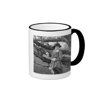 Women's Style in Golf Attire, early 1900s Coffee Mug