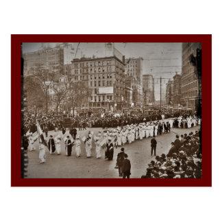 Women's Suffrage Parade 1912 Postcard