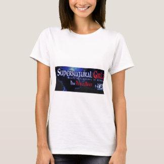 Women's Supernatural Girlz logo t-shirt