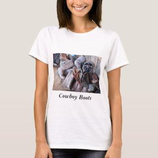 Women's T-Shirt Cowboy BootS